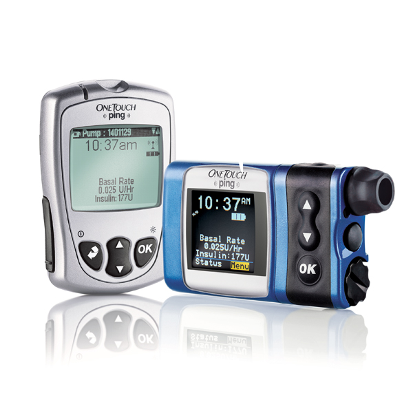 onetouch ping glucose management system insulin pump animas us